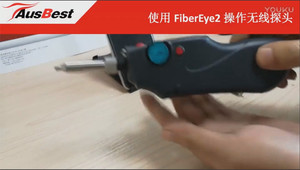 Fiber inspector operation with FiberEye2 on Android(EFW-300P)